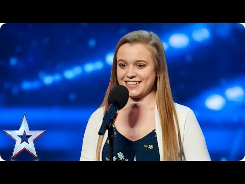Leah Barniville hits all the right notes | Auditions Week 6 | Britain's Got Talent 2017