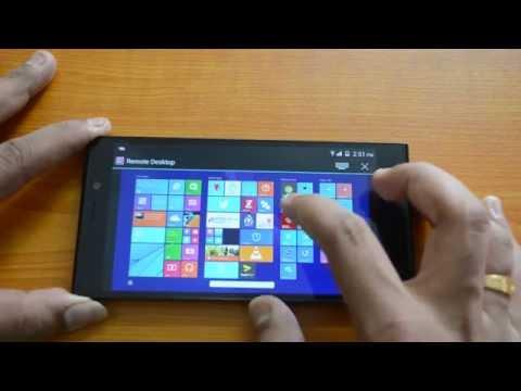 Chrome Remote Desktop for Android- Demo