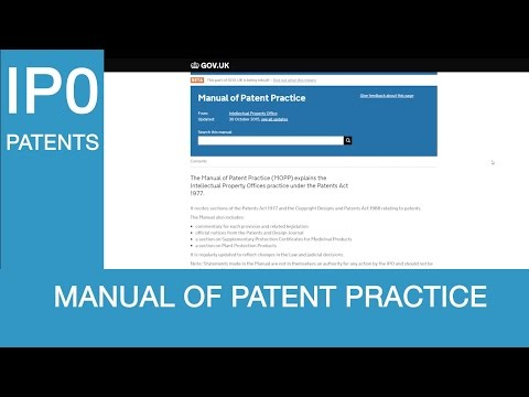 The Manual of Patent Practice (MOPP) is now easier to use on GOV.UK