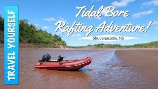 Tidal Bore Rafting Adventure in Shubenacadie, Nova Scotia