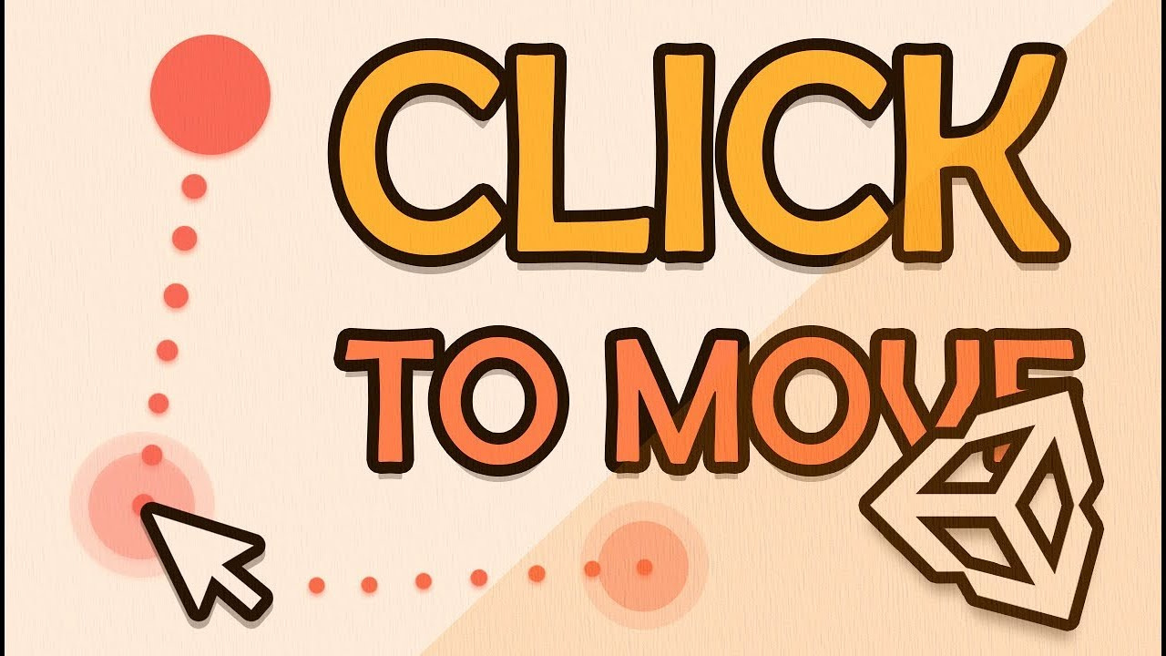 CLICK TO MOVE IN 3D - EASY UNITY / C# TUTORIAL