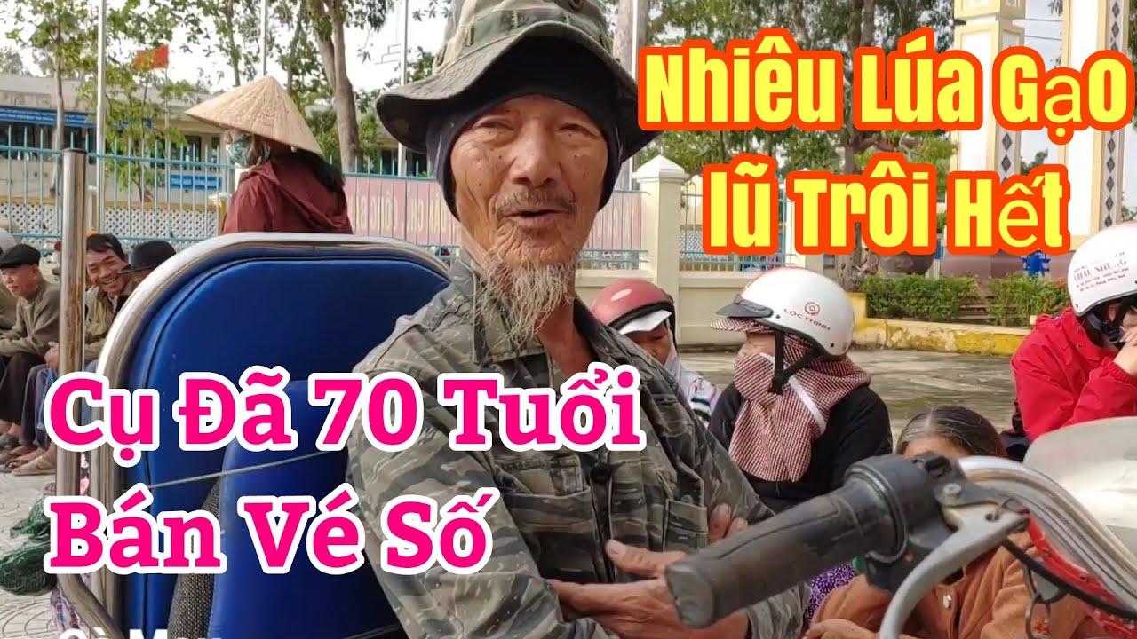 Ông lão 70 rưng nước mắt khi Sư Minh Phú Tâm sự về lũ tại Huế   Trọng Cà Mau