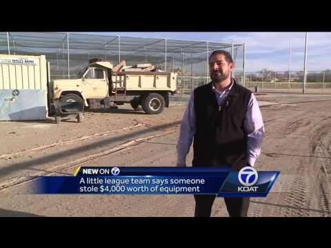 Video: North Valley Little League Burglary