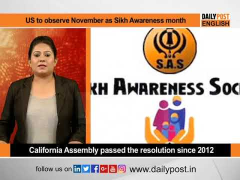 California to observe November as Sikh Awareness month