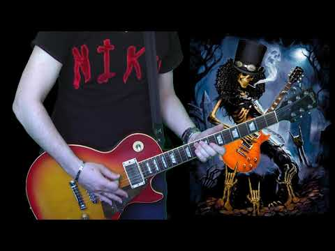 Slash Solo in Tokyo 92 (guitar cover) by Niko