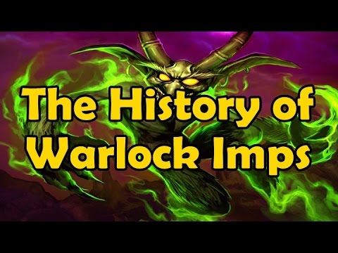 The History of Warlock Pets: Imps