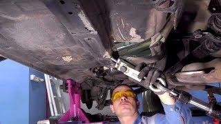 Subaru Outback. Ремонт днища. День первый.
