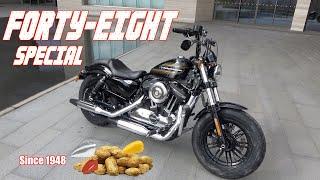 할리데이비슨 포티에잇 스페셜 시승기(Harley-Davidson Forty-eight special test ride)