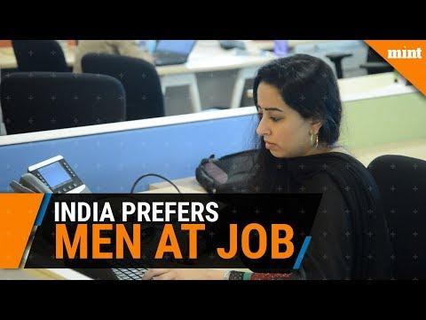 Indian companies often prefer men over women in hiring