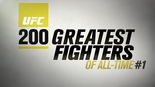 #UFC200 Melhores lutadores de todos os tempos - EP. 1