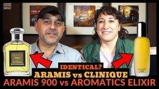 Aramis 900 vs Clinique Aromatics Elixir Fragrance Review + Perfumer Bernard Chant Discussion w/Dalya