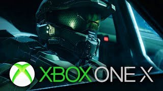 Halo 5 Guardians Xbox One X Gameplay 4K - Master Chief in 4K
