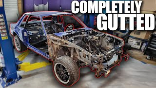 If I Don't Fix It, Nobody Will... (Tearing Apart the FoxBody Mustang)