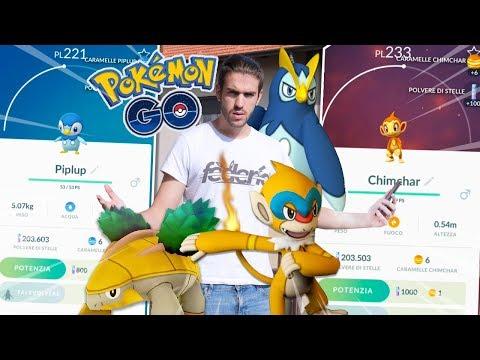 Evolviamo gli STARTER! Tanti NUOVI Pokemon di Quarta Generazione! - Pokemon GO ITA
