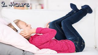 2 Hours Brahms Lullaby no stop for kids sleeping, relaxing. Classical music for children