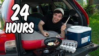 I lived in my car for 24 hours | Alex Ketchum