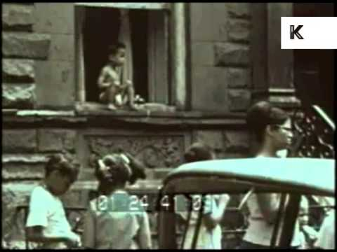 1960s East Harlem, Spanish Harlem Streets, People