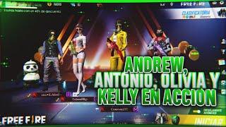 ANDREW ANTONIO OLIVIA Y KELLY EN ACCIÓN/COMPARES🇲🇽*epico*