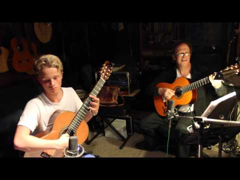 Canon In D Duet (Classical Guitar) Tyler Grotenhuis And Chris Judge
