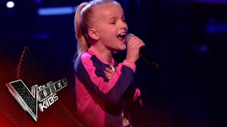 Lilia Performs 'I Wanna Dance With Somebody': The Semi Final | The Voice Kids UK 2018