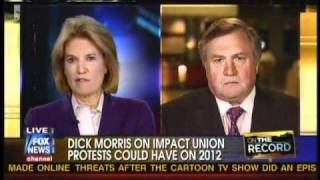 Dick Morris: Teacher's Unions Will Lose And Be Decimated