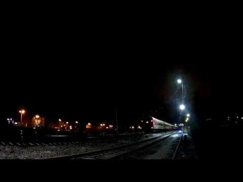 ЭлектровозЧС7-052 с поездом№603Ч Москва Киевская-Москва Павелецкая(первый рейс)станция Нара1.11.2019