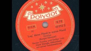 Renée Franke und Detlev Lais - Leg deine Hand in meine Hand