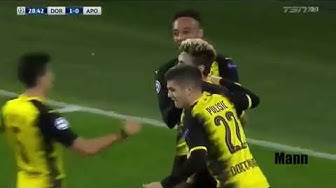 Dortmund vs APOEL Nicosia 1 1   All Goals & Highlights   CHAMPIONS LEAGUE 1 11 2017 HD