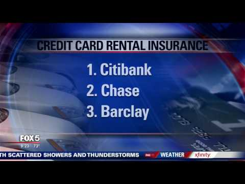 I-Team: Top Three Credit Cards for Rental Insurance