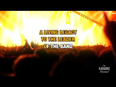 Leader Of The Band in the style of Dan Fogelberg | Karaoke with Lyrics