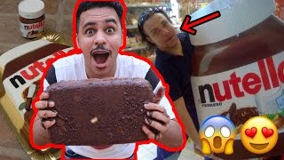 سويت اكبر شوكولاتة بالعالم !!