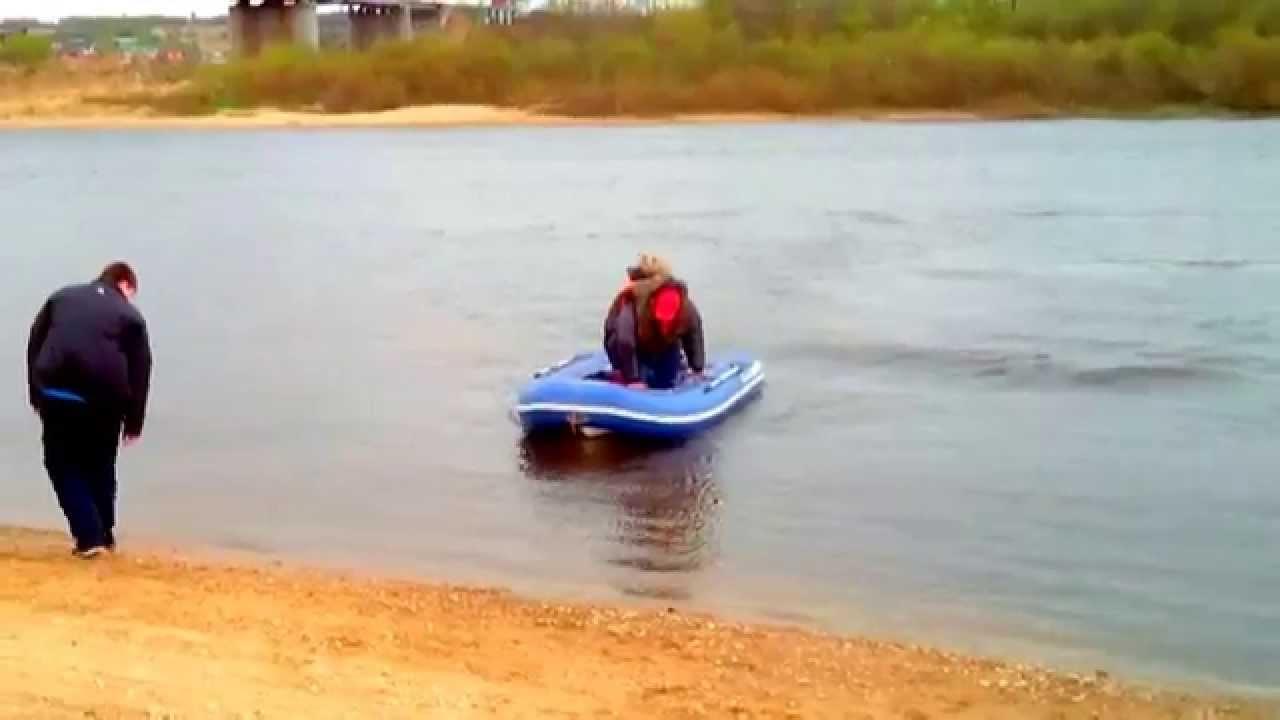 Лодка с пластиковым дном РИБ АЭРО Победа 350. Обзор .