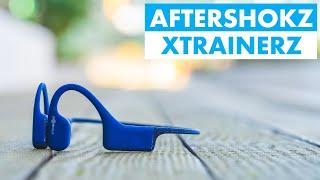 AFTERSHOKZ XTRAINERZ Waterproof Headphones Review || Perfect for triathletes