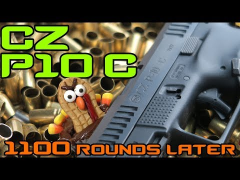 CZ P10 C Review After 1,000 Rounds | Debunking Internet Ninja