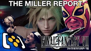 Final Fantasy 7 Remake Gameplay Trailer Reaction Controversy - The Miller Report