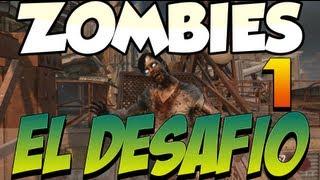Desafio Zombie!! Sólo Escopeta - Die Rise con Alex y Sara [PARTE 1] - Black Ops 2
