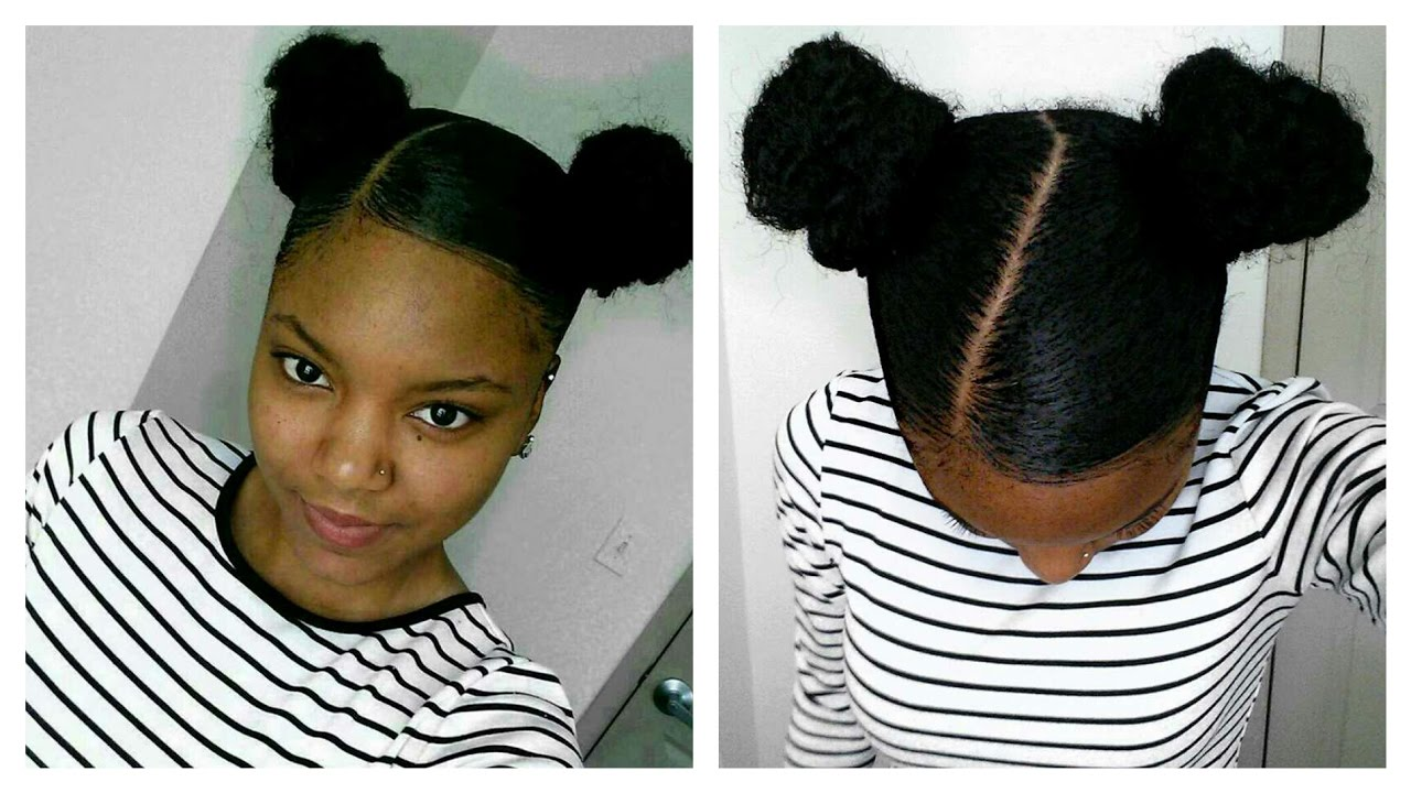 buns  short natural hair protective style  weave