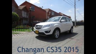 Test Drive Changan CS35 Luxury mecánica 2015