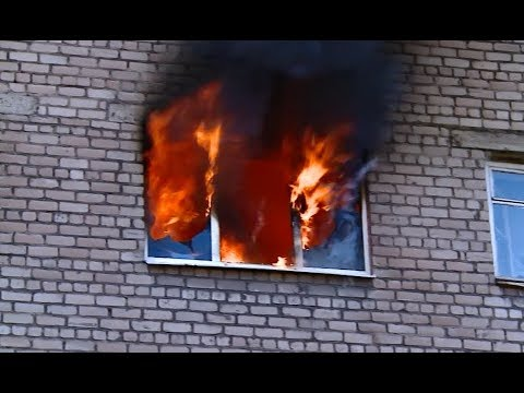 Пожар в общежитии Череповца