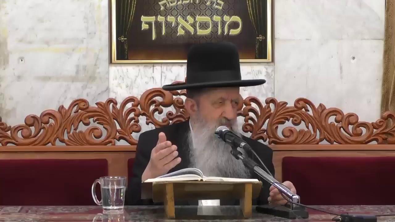 """הרה""""ג הרב בן ציון מוצפי שליט""""א - פרשת קדושים תשע""""ט"""
