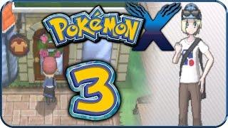 Let's Play Pokémon X Part 3: Nouvaria-City & die erste Boutique!