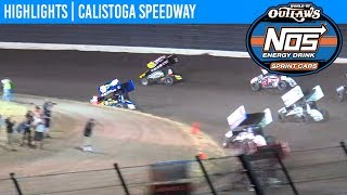World of Outlaws NOS Energy Drink Sprint Cars Calistoga Speedway
