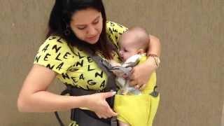 Canguru para carregar o bebê - Mamas & Papas - 1 de 2