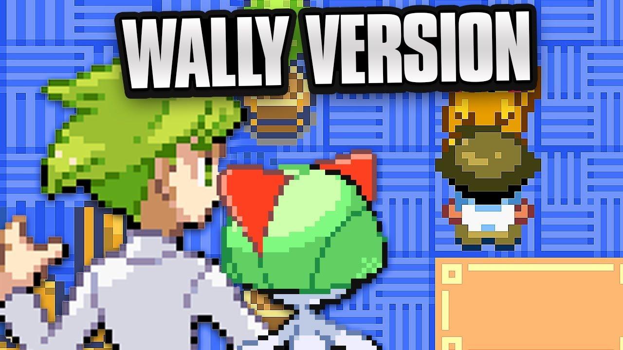 Pokemon Wally Version Rom Hack! (Pokemon Emerald GBA Rom Hack) Part 01!