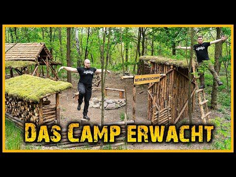 Bushcraft Camp [S05/E20] Name, Rundgang und 'ne Leiter ????️ - Outdoor Bushcraft Lagerbau