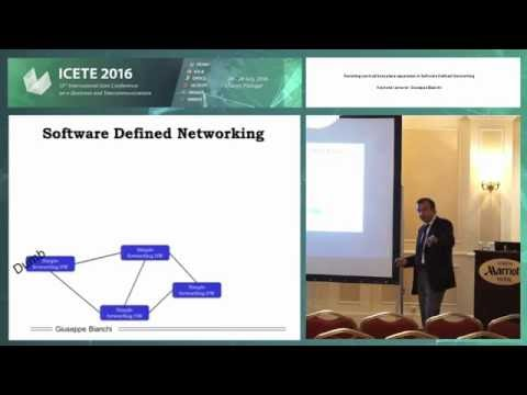 """""""Revisiting control/data plane separation in Software Defined Networking"""" Giuseppe Bianchi"""