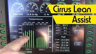 Cirrus Lean Assist and Best Economy