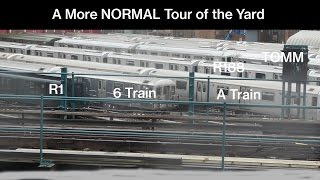 NYC Subway: A Normal Tour of 207th Street Yard