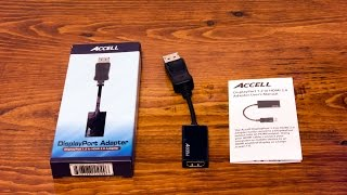 Accell DisplayPort to HDMI 2.0 Adapter(, 2016-02-01T09:25:45.000Z)