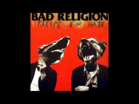 BAD RELIGION Recipe for Hate Albumb